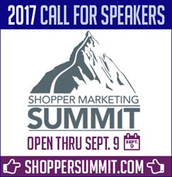 Shopper Marketing Summit Call for Speakers