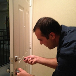 Security audit on San Diego home.