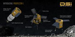 Prospector-1 asteroid mining robot