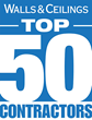 Titan Interiors was named as among the Top 50 Contractors by Walls & Ceilings magazine.