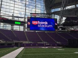 Lawrence Sign Partners With U.S. BANK Stadium On Sponsorship Signage