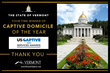 Vermont Wins Top U.S. Domicile for Captive Insurance for Fourth Year: Captive Review Magazine Unveils Industry Awards