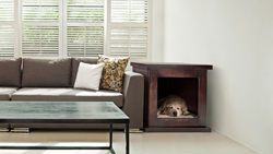 Anti-Anxiety dog den that also looks awesome in any house