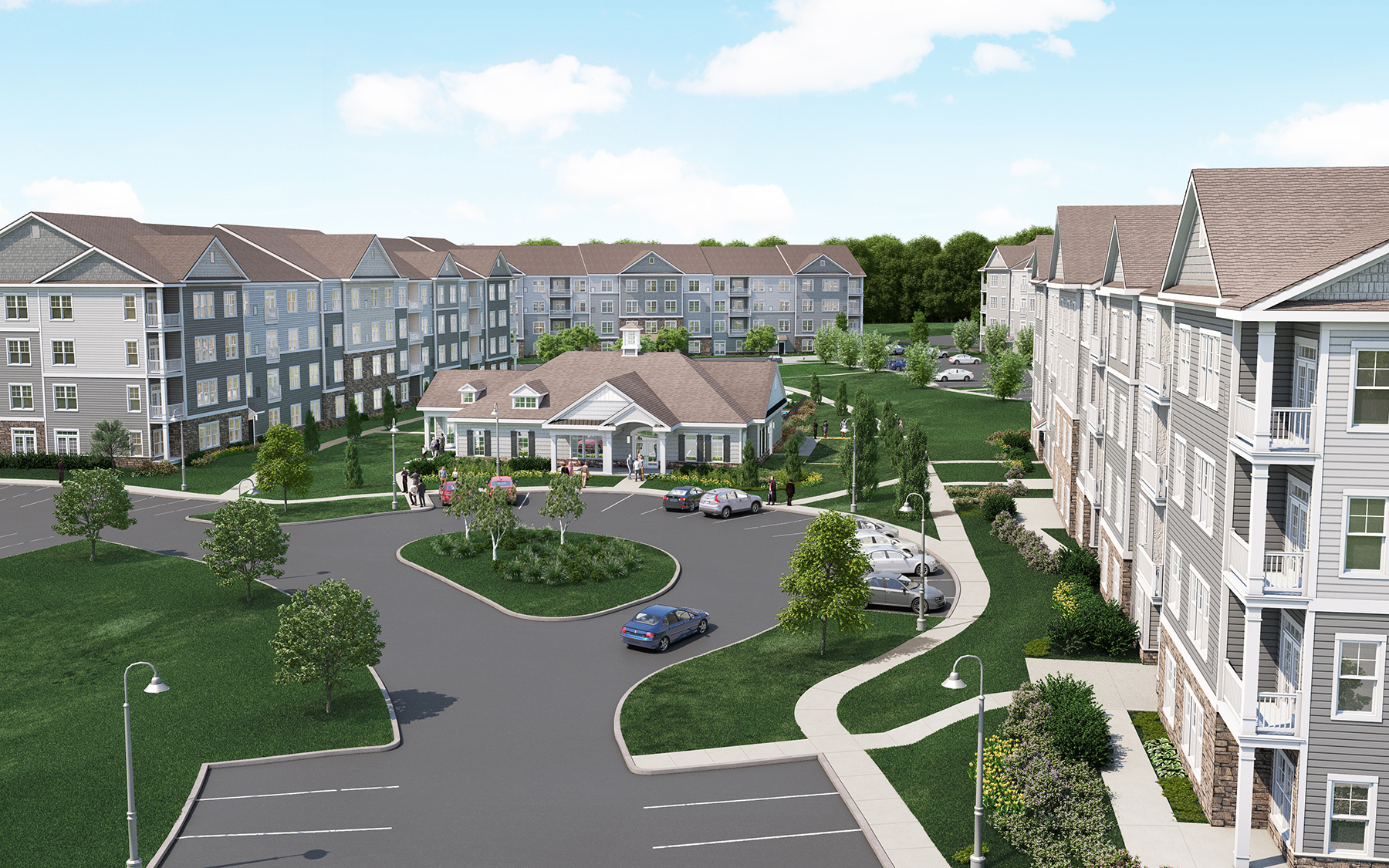 Parc Westborough Apartment Community Opens In Westborough Ma