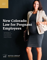 New Colorado Law for Pregnant Employees