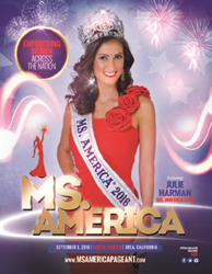 Ms. America® 2016 is Julie Harman from Midvale, Utah