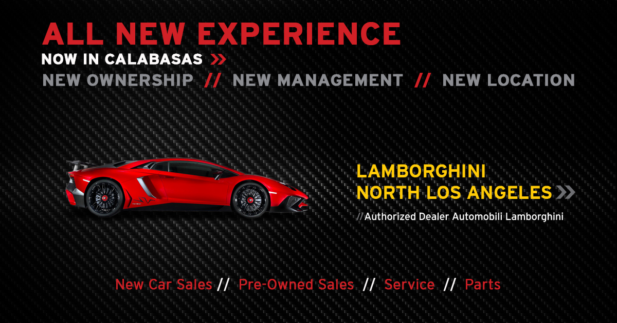 Lamborghini North Los Angeles Has Been Acquired by ...