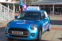 Summer Car Raffle 2016 at Pendleside Hospice