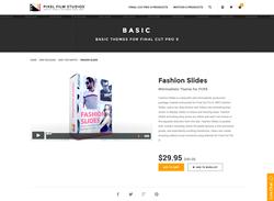 Pixel Film Studios Plugin - Fashion Slides - FCPX