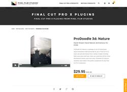 ProDoodle 3D Nature - FCPX Plugin - Pixel Film Studios