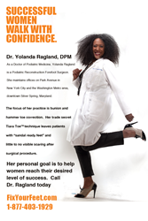 Dr Yolanda Ragland advocates for women's success - Fix Your Feet