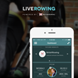 The LiveRowing App is tailored for indoor rowers to enable them to connect, analyze and compete while on the Concept2 Indoor Rowing Machine.