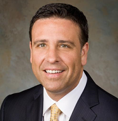 A portrait of BlackPlum CEO, David Giunta from Newport Beach California
