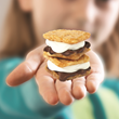 Miniature food s'mores