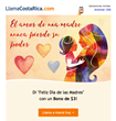 Costa Ricans Abroad Receive a Mother's Day Bonus Gift of More than 150 Minutes to Call Costa Rica with LlamaCostaRica.com