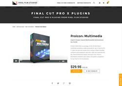 FCPX Plugin - ProIcon Multimedia - Pixel Film Studios