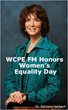 WCPE FM Honors Women's Equality Day