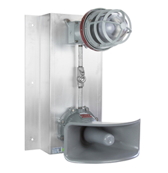 Explosion Proof Signal Stack Light with Audible Horn