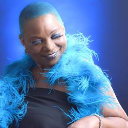 The amazing Ms. Blu