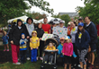 Gavin's Gang at the 2015 Greensboro Run/Walk for Autism