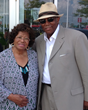 Katherine Jackson with Rych Kydd Producer Greg Coleman