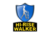 The Hi-Rise Walker was created to prevent the strain that normal walkers put on the arms, wrists, and back.