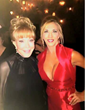 "Carla Gonzalez, Ms. North America Universe had the honor to presented actress Barbara Eden with the ""Icon Beauty Award"" at the Hollywood Beauty Awards"