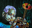 Featured This Week on The Jazz Network Worldwide: Mosaic Artist Gregory Sipp Showcasing His Mosaic Art of Legendary Jazz Artists