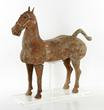 Han dynasty pottery horse