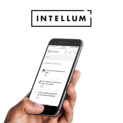 Intellum's Exceed LMS on mobile.