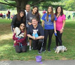 Team NJ MET at 2015 Bark for Babies