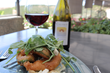 Beer-Battered Avocado Salad by Meritage at Callaway Winery