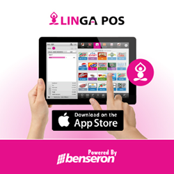LingaPOS for iPad, by Benseron IT