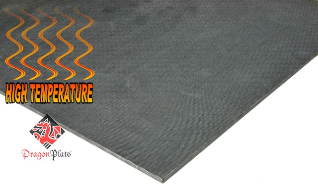 High Temperature Dragonplate Carbon Fiber Sheets And Tubes