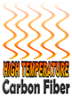 High Temperature DragonPlate Carbon Fiber Sheets and Tubes Withstand 3000F