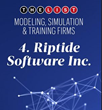 Riptide Software Named in Orlando Business Journal's Top Modeling, Simulation, & Training Companies