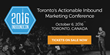 Canada's #1 Digital Marketing Conference Lands in Toronto October 6th