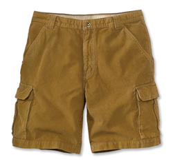 Orvis North Pass Corduroy Cargo Shorts