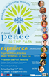 Peace in the Park Festival Announces their 4th Edition Event at Golden Gate Park on September 17th, 2016