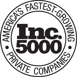 Inc 5000 Fastest growing Companies list 2016