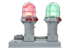 Explosion Proof Traffic Light Equipped with Two 10 Watt LED Lamps