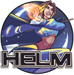 HELM Logo with Luna