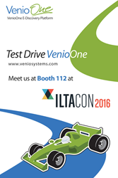 Venio Systems ILTACON e-Discovery and legal technology software