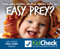 KidCheck Children's Check-In System