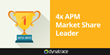 Dynatrace Ranks No. 1 for APM in Gartner's Worldwide Performance Monitoring Market Share Report