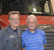 Rob with second generation owner, Art Davis