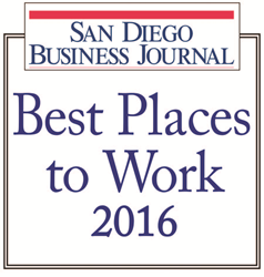 San Diego Best Places to Work 2016