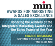 min to Honor Magazine Media's Finest Marketers and Sales Executives on September 15 in NYC
