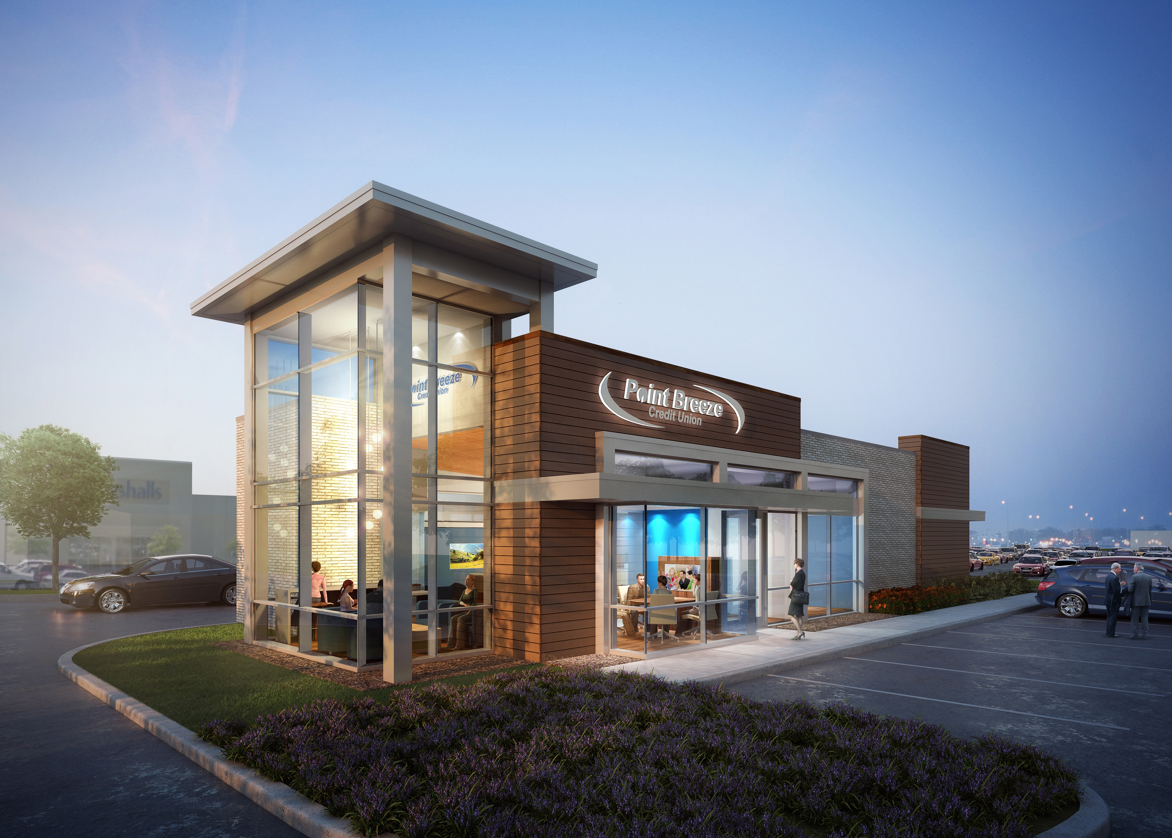 point breeze credit union  open owings mills office  foundry row introduce  member