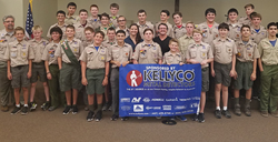Prize Presentation to Boy Scout Troop #475